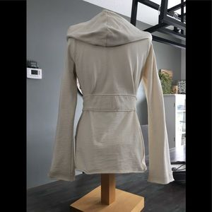 Lucky Brand Sweaters - Lucky Brand Small Hooded Cardigan EUC